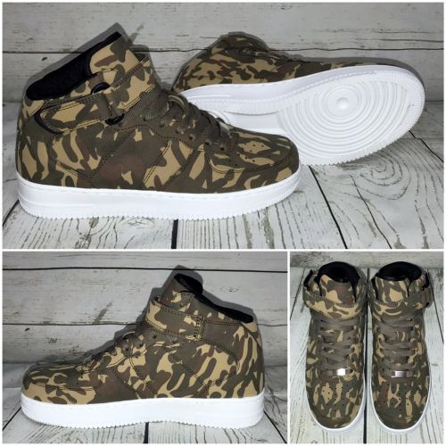 NEW Style Highcut KLETT Sportschuhe / Sneakers CAMOUFLAGE